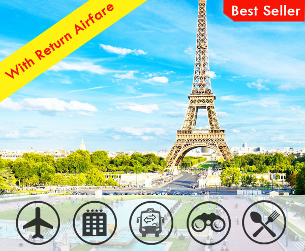 Glimse of Europe with Airfare